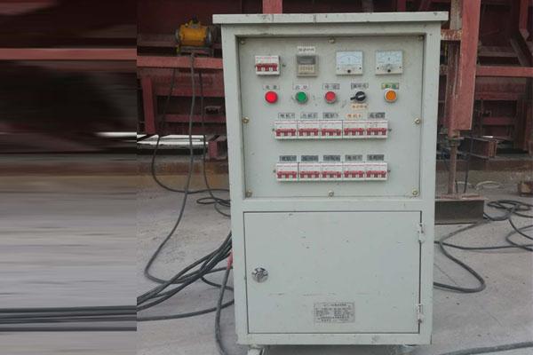 高頻振動器施工現場