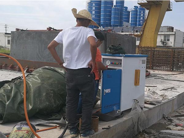 電加熱蒸汽養護設備